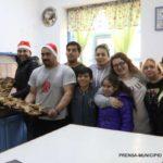 Pacientes internados en el Hospital y sus familias recibieron cena navideña