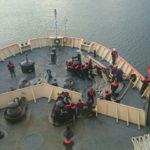 """El rompehielos ARA """"Almirante Irízar"""" puso proa rumbo a la Antártida"""