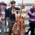 Porvenir prepara el asado más grande de la Patagonia