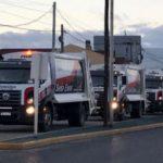 Presentan nuevos camiones recolectores