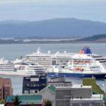 Diez cruceros antárticos llegaron a Ushuaia