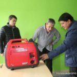 Continúa la entrega de equipos generadores