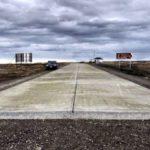 Pavimentación chilena llega a San Sebastián