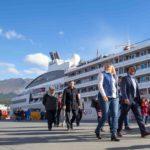 Bertone destacó avances en las obras de ampliación del Puerto de Ushuaia