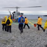 Funcionarios del Gobierno provincial visitaron las bases antárticas
