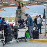 Argentina XV ya está en Ushuaia
