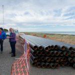 Avanzan las obras que darán gas por red a 5 mil vecinos de la Margen Sur