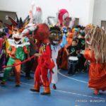 Vecinos colmaron el nuevo gimnasio para celebrar el carnaval