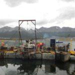 Puerto de Ushuaia: comenzaron los trabajos de ampliación del muelle