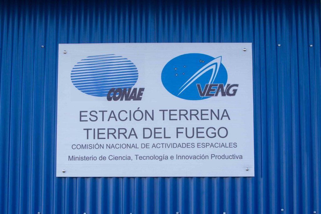 Se instaló en Tolhuin la primera estación terrena de la CONAE