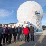 Tolhuin ya cuenta con la primera estación terrena de la CONAE