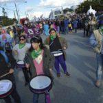 Marea de mujeres colmó las calles de la ciudad de Río Grande
