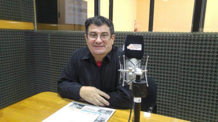 """El decano de la Facultad Regional Tierra del Fuego Ing. Francisco Álvarez expresó que """"haber ido este martes y ver la antena montada con un domo que la protege, fue muy sorprendente""""."""