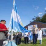"""Inauguran la Escuela """"44 héroes del submarino ARA San Juan"""" en Puerto Almanza"""