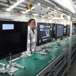 Producción de televisores batió récords históricos a tres meses del mundial