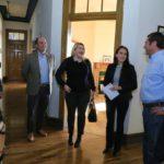 Bertone se reunió con la nueva comisión directiva de la Asociación Rural