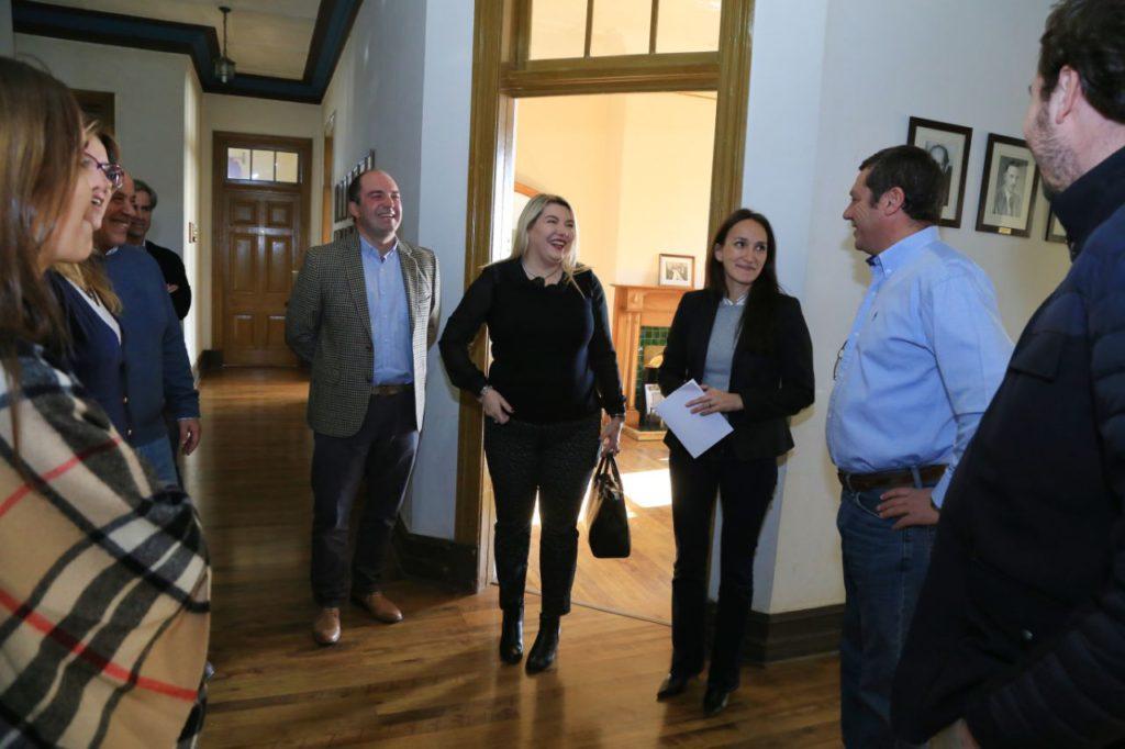 Bertone se reunió con la nueva comisión directiva