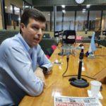 El legislador Bilota pasó por Radio Universidad (93.5)