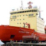 El rompehielos Almirante Irizar regresó a Ushuaia