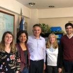La Embajada de Estados Unidos presentó el programa de becas para estudiantes