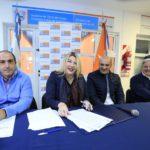 Firmaron el contrato para la construcción de la planta de tratamiento de efluentes cloacales