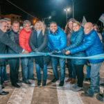 Vuoto y Bertone encabezaron el acto de apertura de la nueva avenida Perito Moreno