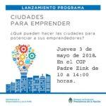 Con la participación de la FRTDF, se realiza hoy un taller en el marco del programa Ciudades para Emprender