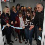 Bertone inauguró la nueva sala de Hemodiálisis