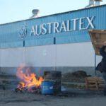 Australtex: Primera reunión en Trabajo por los despidos