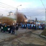 Riograndenses dijeron presente en marcha por derechos sobre Malvinas