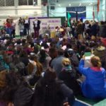 """Cientos de Mujeres se movilizaron en Tierra del Fuego y reclamaron """"Ni Una Menos"""""""