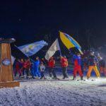 Rosana Bertone inauguró la temporada invernal 2018