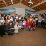 Bertone entregó nuevos subsidios y finales de obra a vecinos de Tolhuin