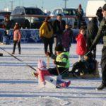 Se inauguró la pista de patinaje del Cono de Sombra