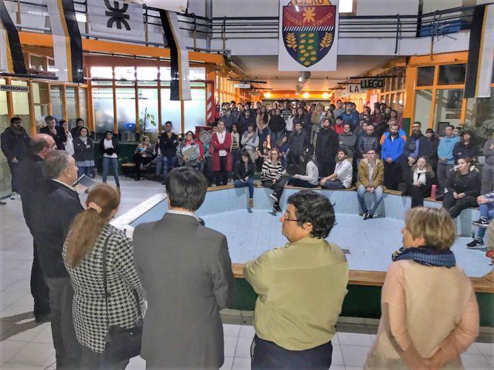 El viernes 17 de agosto, en las instalaciones de la Facultad Regional Tierra del Fuego de la Universidad Tecnológica Nacional (FRTDF-UTN) se llevó adelante el acto por el 70 aniversario de la fundación de la Universidad Obrera Nacional que dio origen la actual UTN.