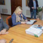 Bertone quiere una administración ordenada y honesta