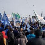 Imponente movilización del pueblo trabajador