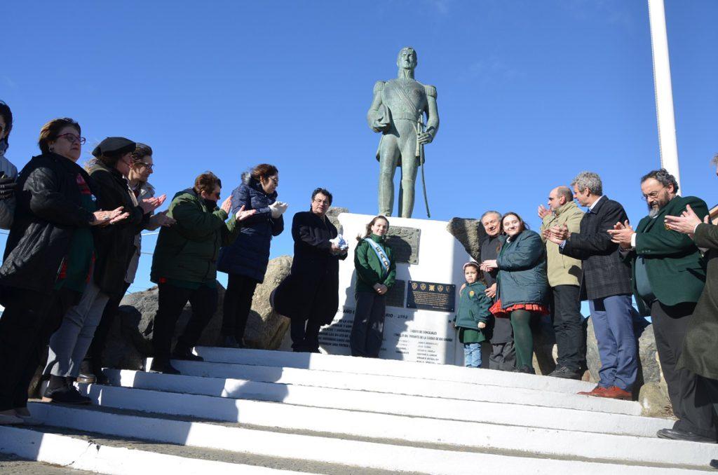 La UTN y la Fundatec homenajearon al Libertador con una placa