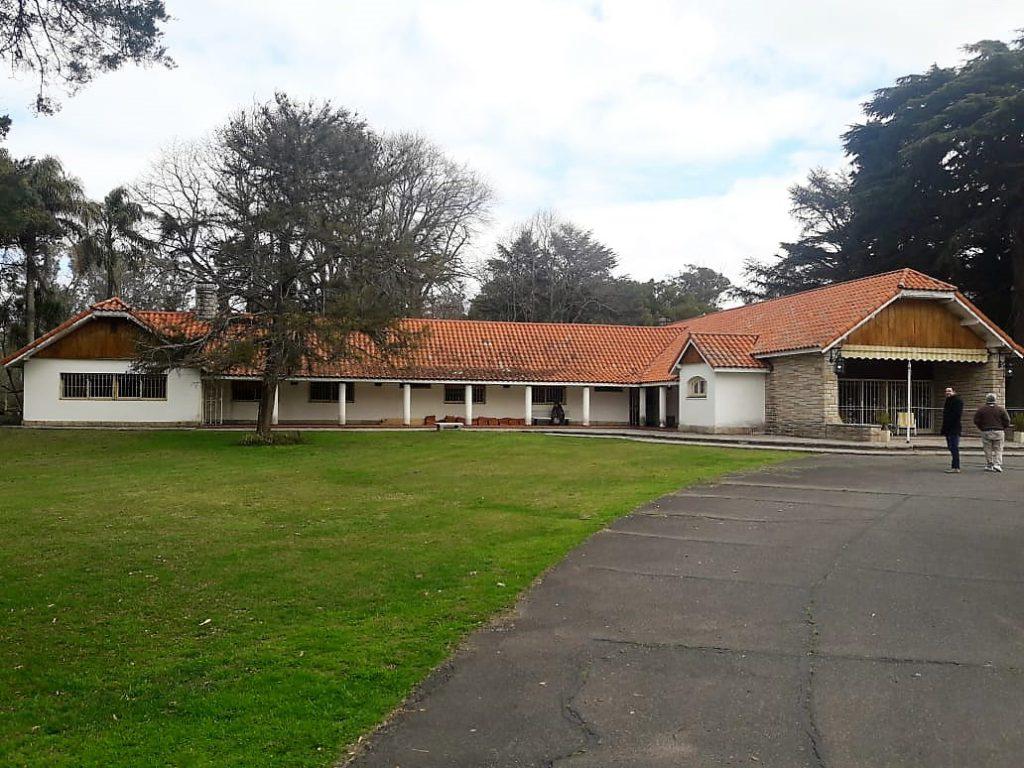 La Quinta San Vicente funciona como un museo provincial y está custodiada por un casero, por personal de seguridad y por integrantes de la Policía provincial.