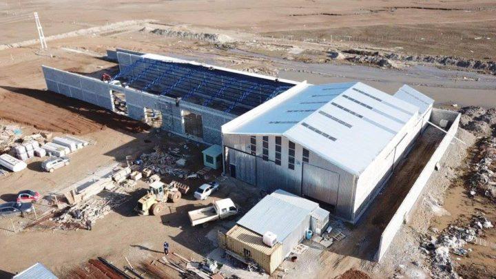 En dos meses lanza la producción una fábrica de ladrillos ciento por ciento fueguina