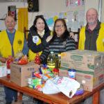 El Club de Leones entregó alimentos al comedor 'Granito de Amor'