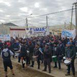 Río Grande se paralizó por el reclamo nacional