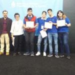 """Estudiantes del Colegio Provincial """"Padre José Zink"""" recibieron un reconocimiento por su proyecto """"Vivero Automatizado"""""""