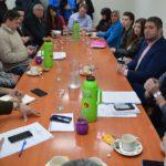 Concejales evalúan el proyecto para la construcción del puente peatonal en la UTN