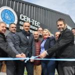 Bertone inauguró el Centro de Desarrollo Tecnológico de Tierra del Fuego