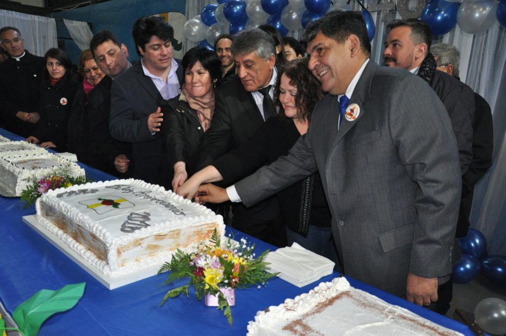 Tolhuin celebró un nuevo aniversario apuntando al medio siglo