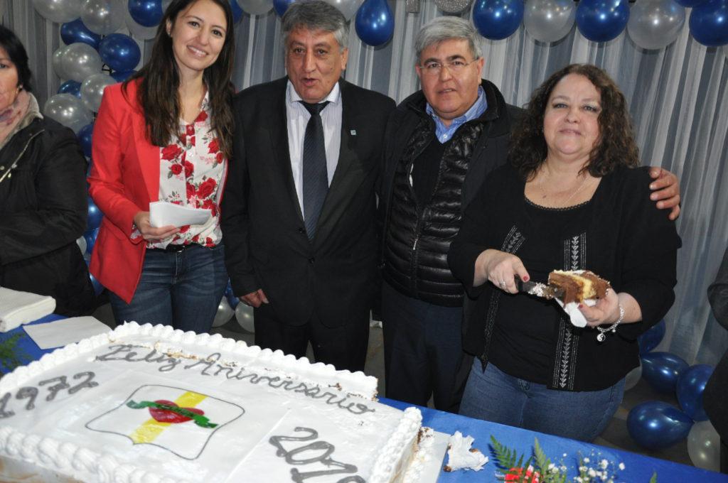 El Director de Radio Universidad (93.5) y Provincia 23, Alberto Centurión, participó de la celebración del 46° Aniversario de Tolhuin.