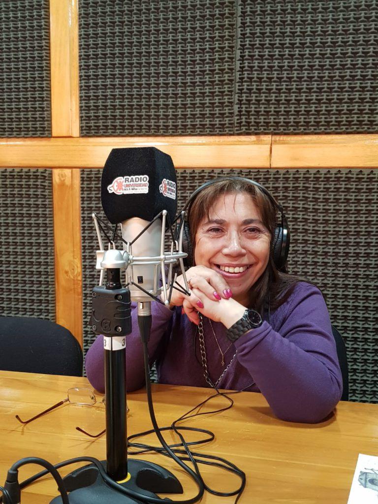 Marita Lodeiro pasó por Radio Universidad 93.5