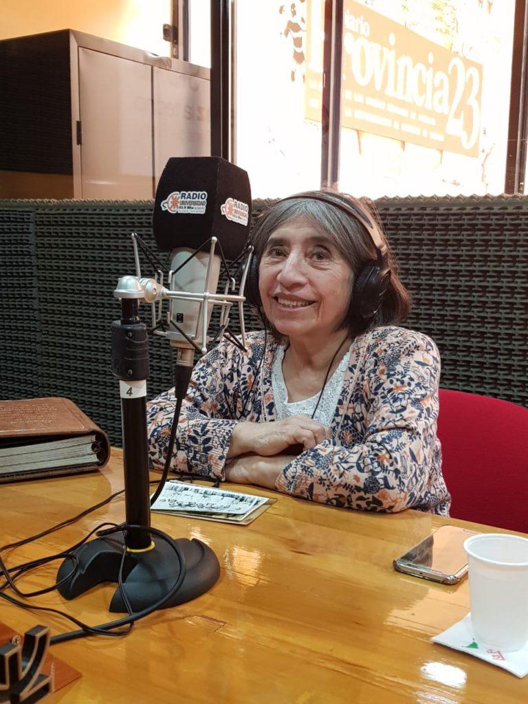 Zulema Lodeiro pasó por Radio Universidad 93.5