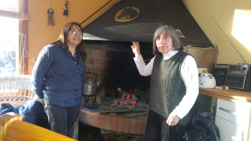 Algunas de las tantas maravillosas obras generadas por las hermanas Lodeiro, en su cabaña de campo.